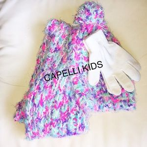 Other - Soft Scarf/Hat/Gloves Set By Capelli Kids NWOT